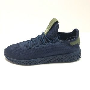 ADIDAS Pharrell Williams Hu Navy Kids Shoes Size 3